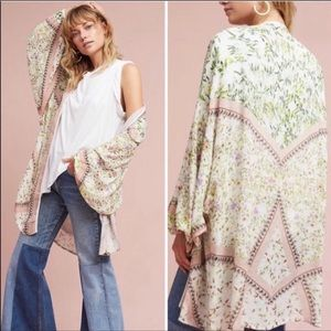 {Anthro} blank London Scarlett kimono